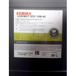 Ulei Claas Agrimot SDX 15W40 20L