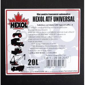 Ulei Hexol ATF Universal 20L