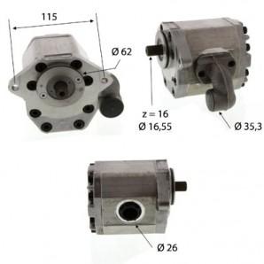 Pompa Hidraulica Zetor 80420901