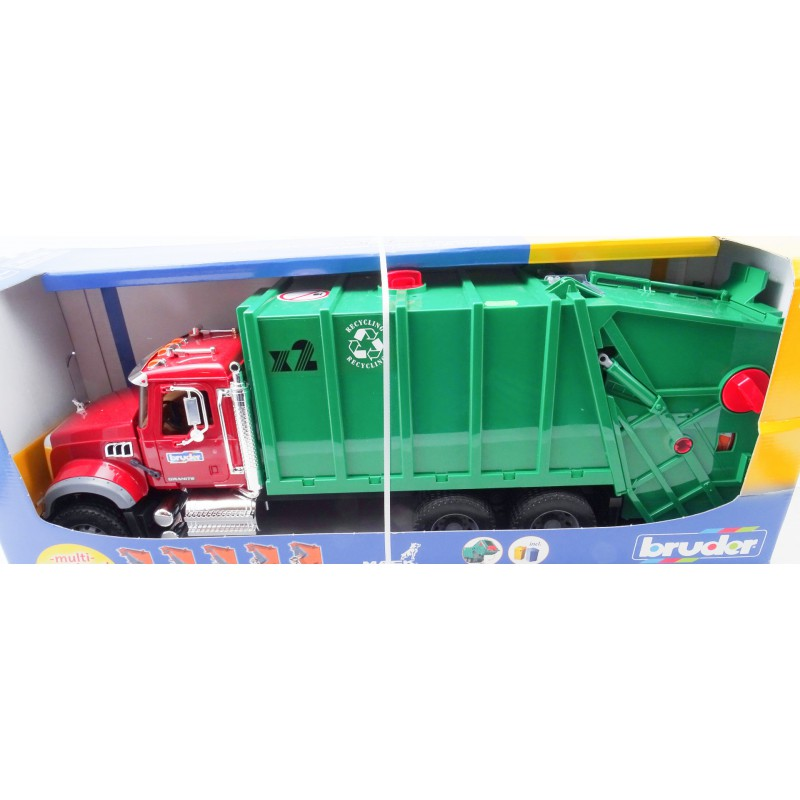 Autocamion Mack colectare gunoi